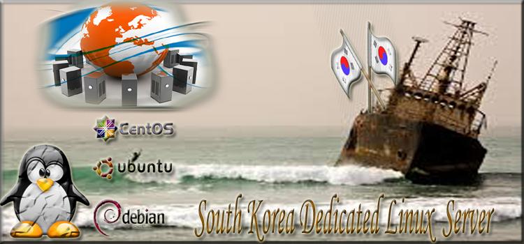 South Korea dedicated linux server