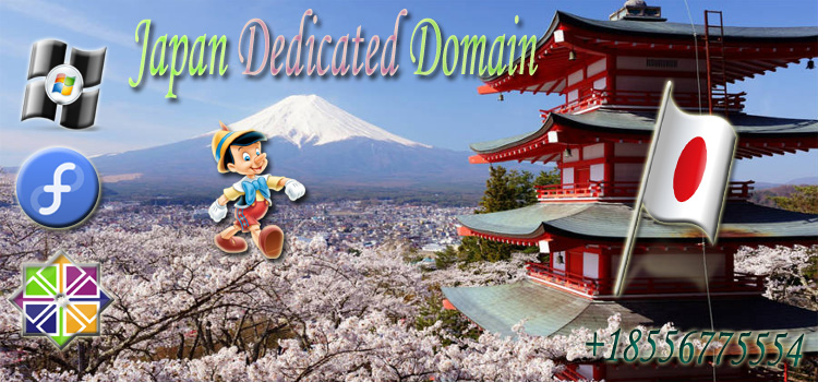 Japan Dedicated Domain