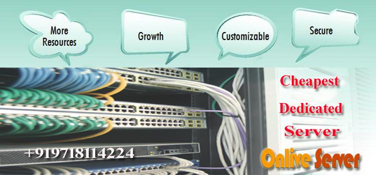 Cheapest Dedicated Server
